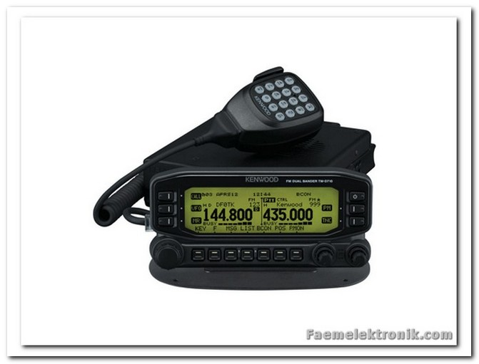 KENWOOD AMATOR TELSiZ TM-D710